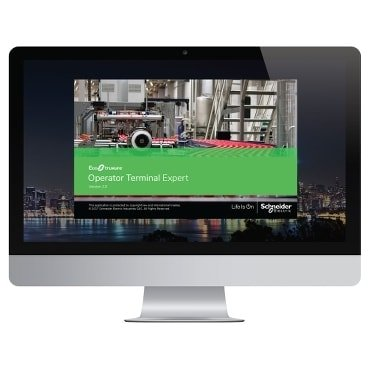 EcoStruxure™ Operator Terminal Expert-Touch screen configuration software
